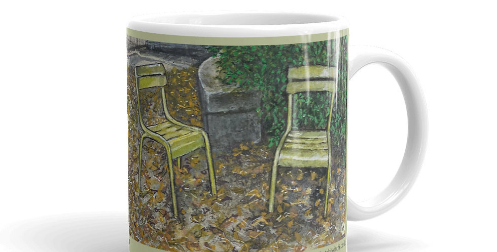 Autumn at the Luxembourg Gardens Mug