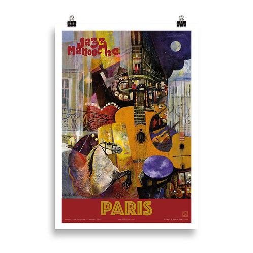 Nuages.  Poster  70 x 100 cm