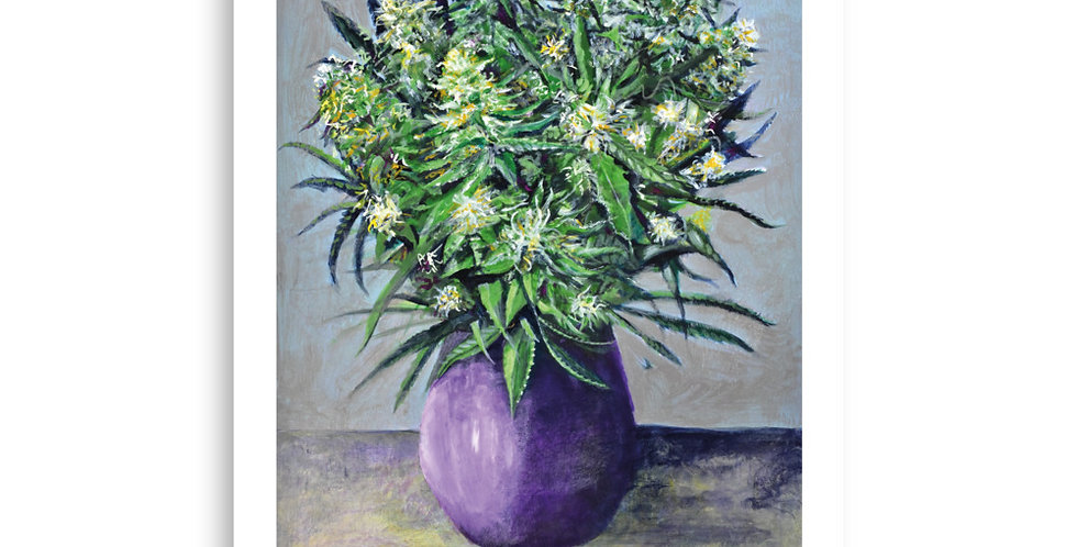 A Bouquet from Amsterdam. Poster 700 x 1000 mm