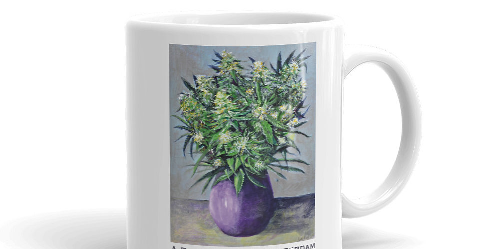 A Bouquet from Amsterdam. Mug Design