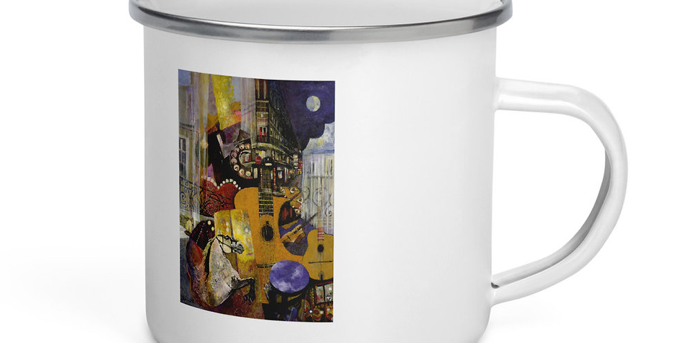Nuages Enamel Mug