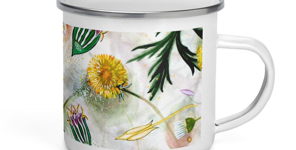 Mugwort & Dandelion Mug Design by Debbie Lear