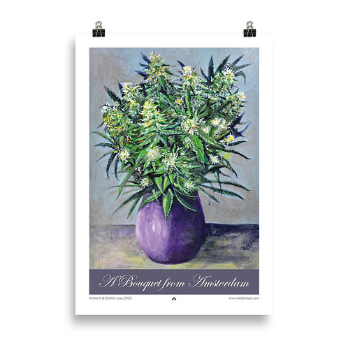 A Bouquet from Amsterdam Poster