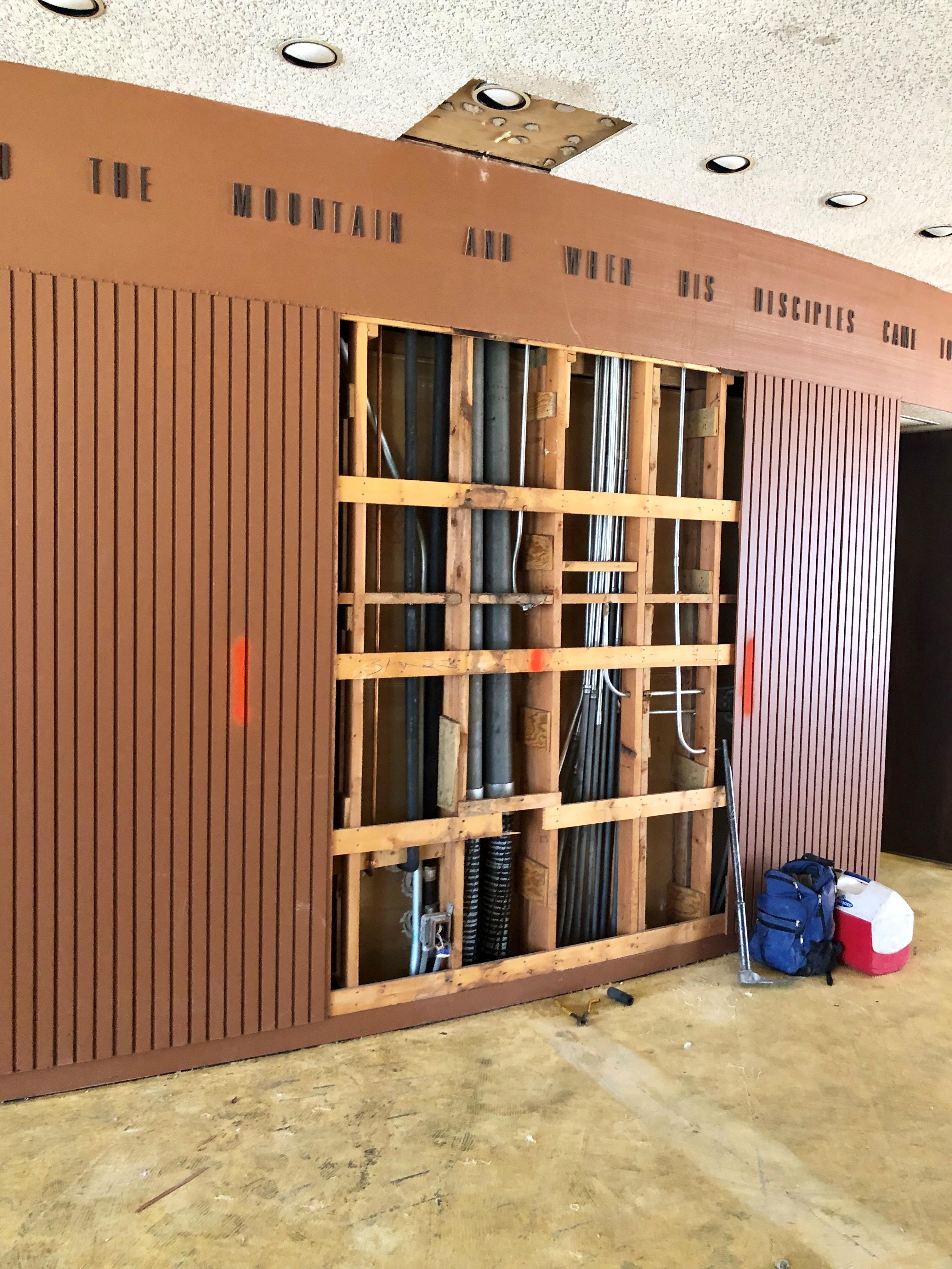 07_16_19 Foyer New Doorway 2