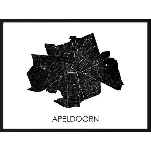 Apeldoorn stadskaart