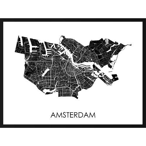 Amsterdam Stadskaart