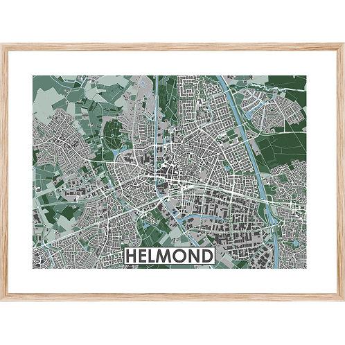 Helmond Stadskaart Poster MijnHONCK