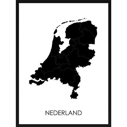 Moderne poster van jouw favoriete land bestel je bij MijnHONCK