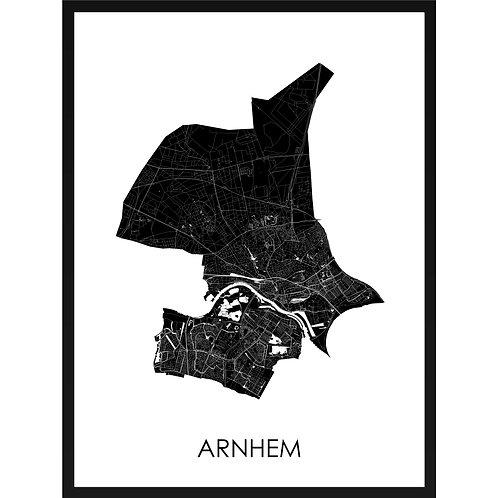 Arnhem stadskaart
