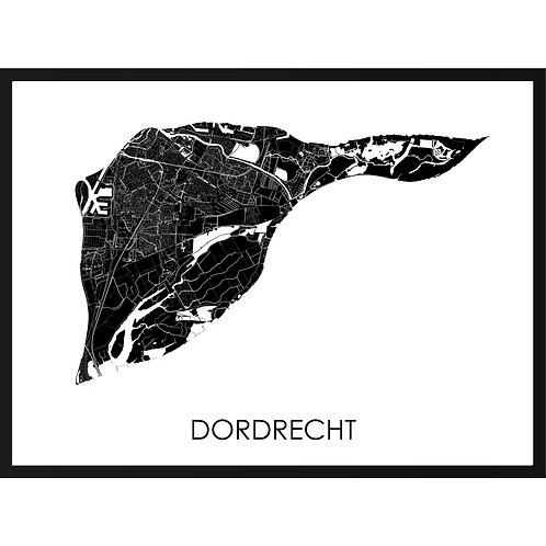 Dordrecht stadskaart