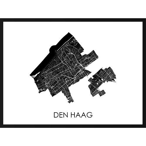 Den Haag stadskaart