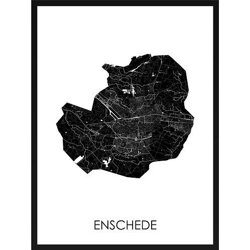Enschede stadskaart