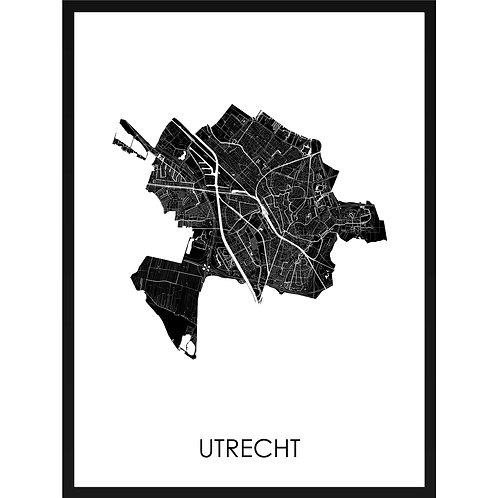 Utrecht stadskaart