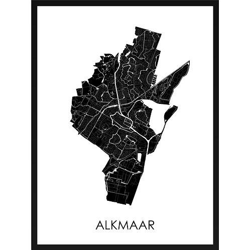 Alkmaar stadskaart