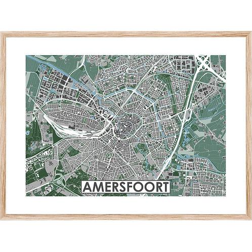 Amersfoort Stadskaart Poster MijnHONCK