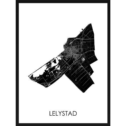 Lelystad stadskaart