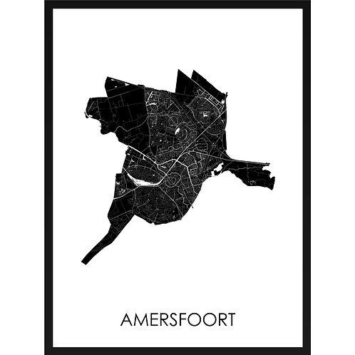 Amersfoort stadskaart
