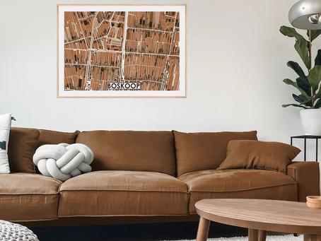 Kleurrijke Gedetailleerde Stadskaarten laat je ontwerpen door MijnHONCK