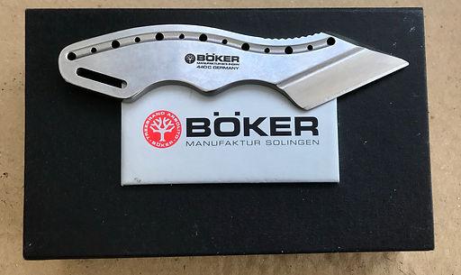 Boker Kiridashi neck knife.
