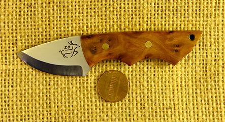 Lance Ockenden mini neck knife
