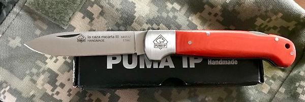 Puma La Caza micarta 111