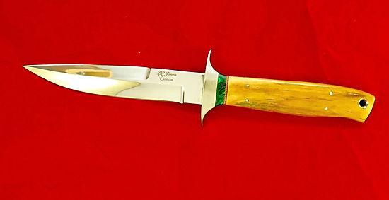 LL Jones custom boot knife.