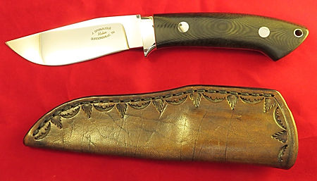 James Sponaugle hunter and leather sheath