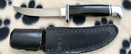 Buck model 118 hunting knife.