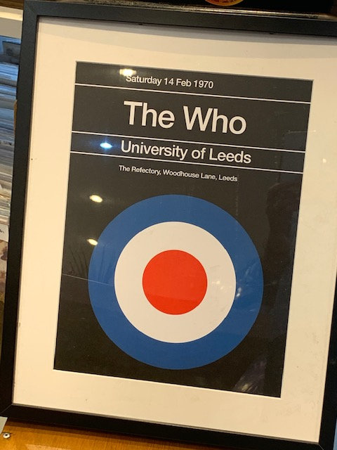 The Who framed print