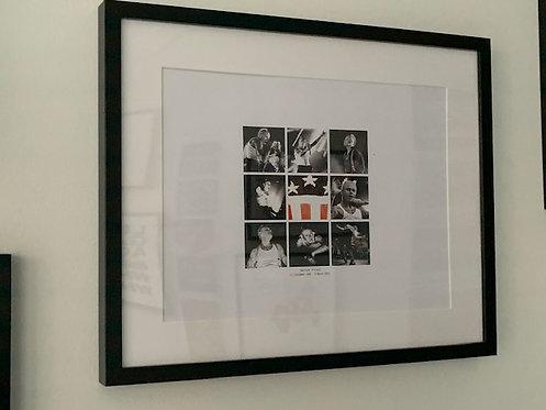 Keith Flint framed print