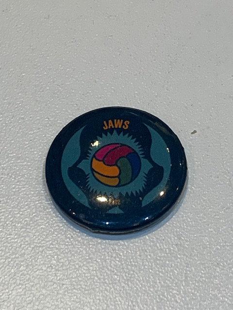 Jaws pin badge
