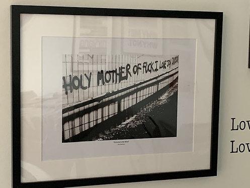 Joy Division framed print