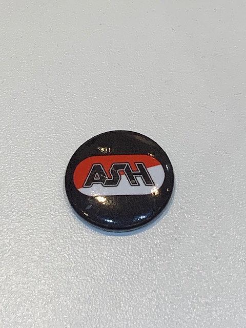 Ash pin badge