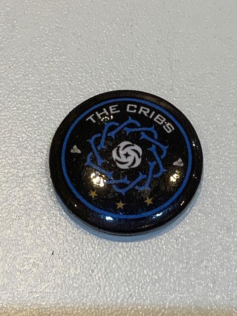 The Cribs pin badge