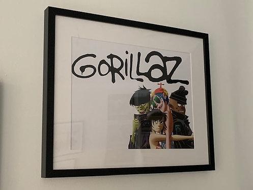 Gorillaz framed print - Group