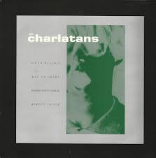 The Charlatans - Over rising (signed)
