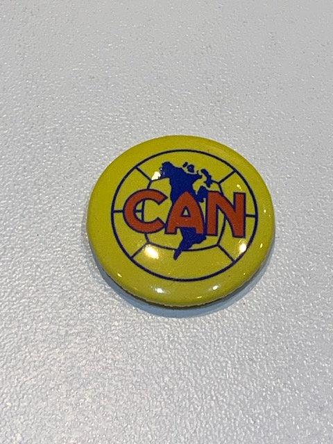 CAN pin badge