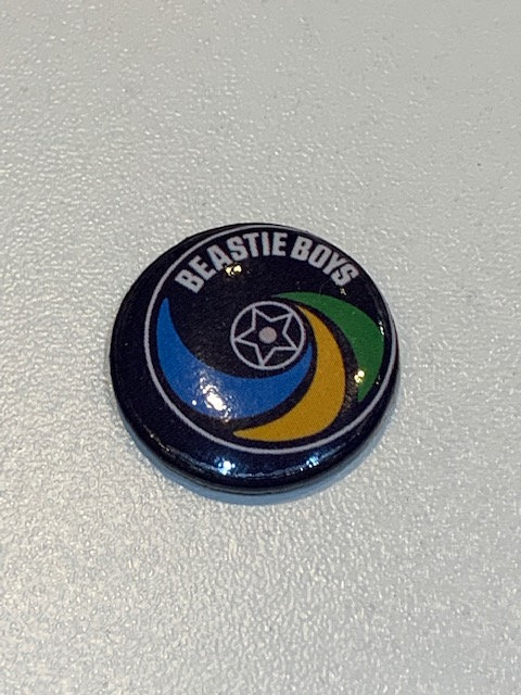 Beastie Boys pin badge