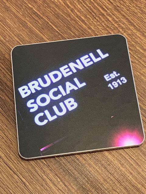 Brudenell Social Club Est Coaster
