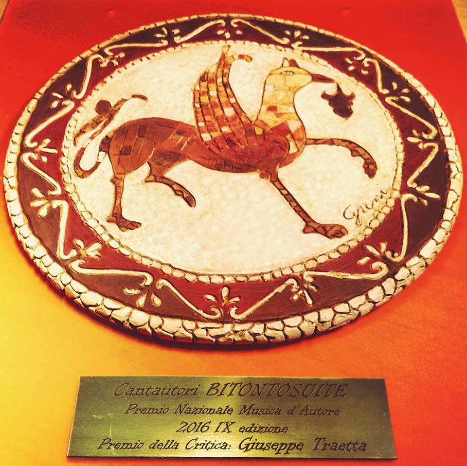 """Premio Critica """"Giuseppe Traetta"""""""