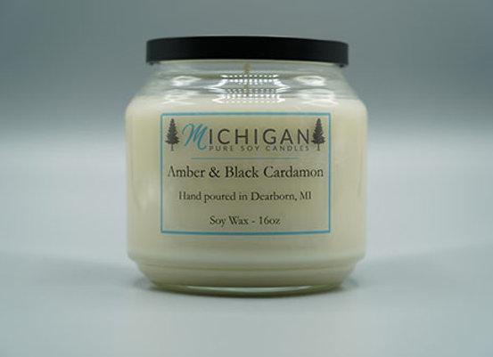 Amber & Black Cardamon