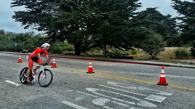 The Road Bach #3 - Santa Cruz 70.3 Recap