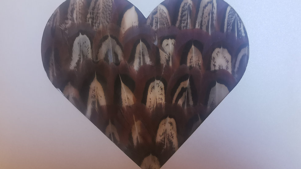 Heart Notelet Cards A5