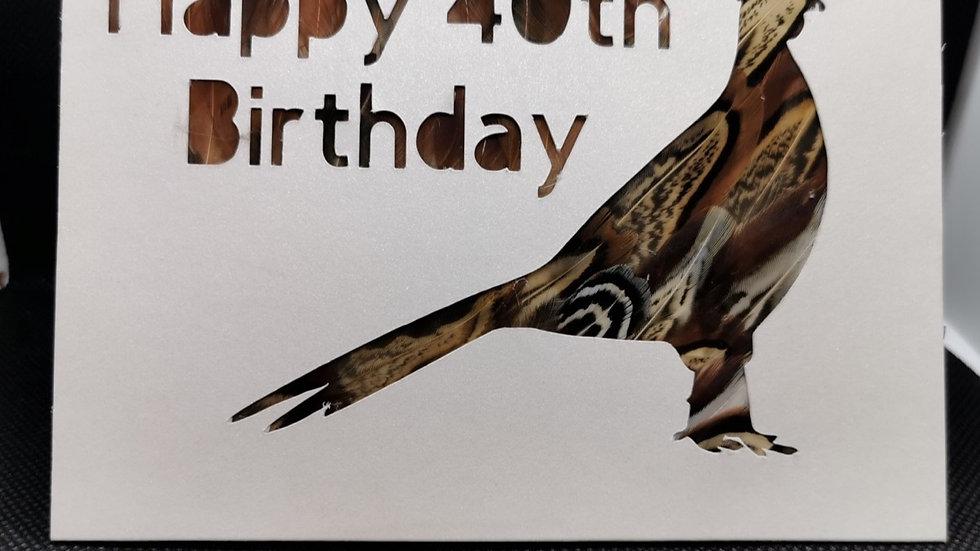 Age Birthday Card A6