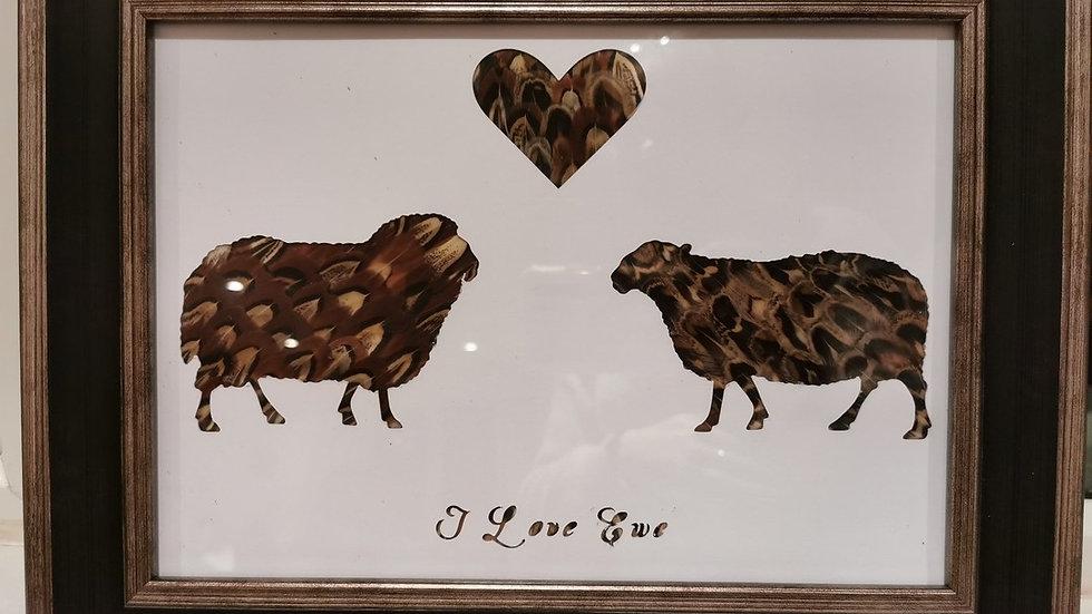 Love in the air - I Love 'Ewe' - Ram and Ewe Version