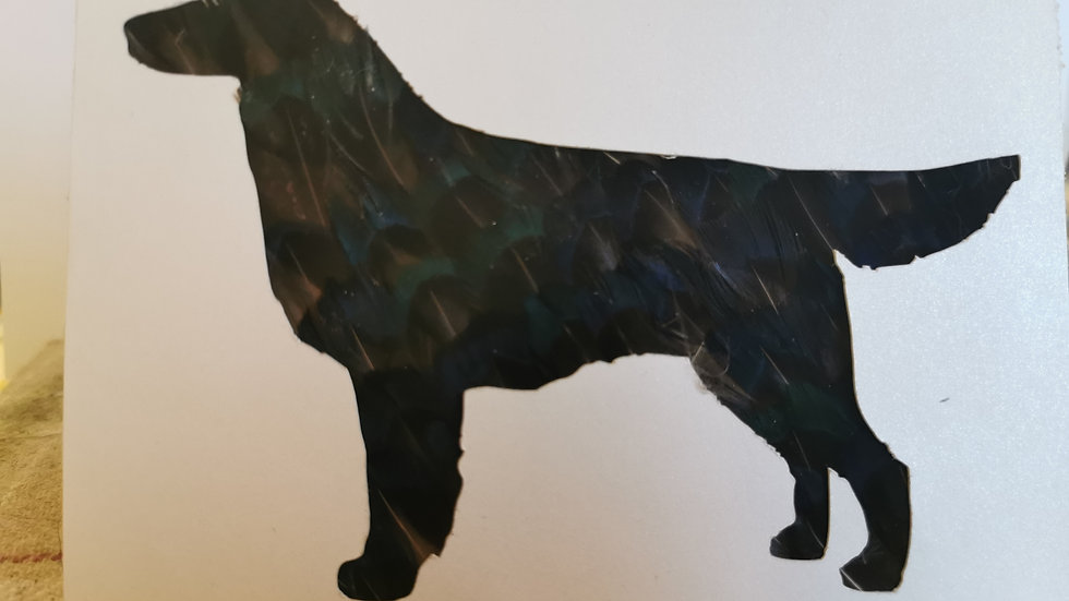 Flatcoated Retriever Notelet Cards A6