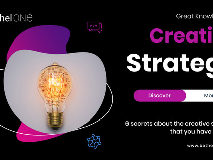 6 secrets about the creative strategy that you have to know