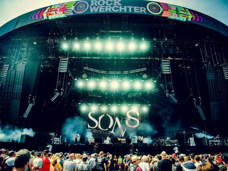 Sons maakt indruk op Werchter!