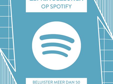 Geniet van meer dan 50 Leffingeleuren playlists op Spotify!