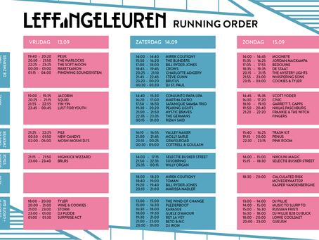 Running order online!